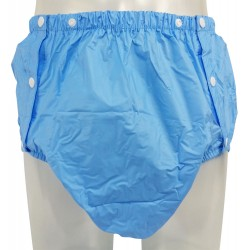 PVC Plastic Pants with Snaps