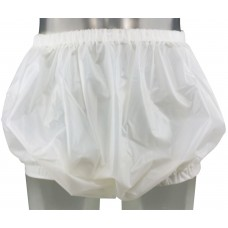 Generous Plastic Pants with Wide Elastics