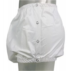 PVC Pants Snaps on the Side, White or Transparant