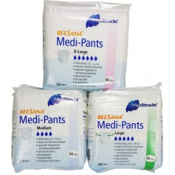 Beesana Medi-Pants, Cotton-Feel, 14 Pack