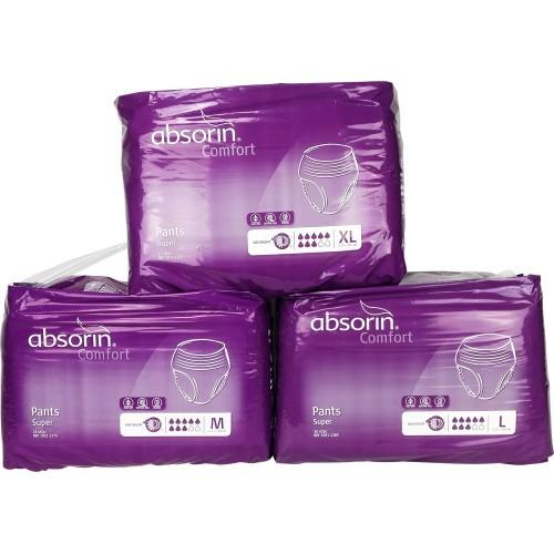 Absorin Comfort Pants Super, Cotton Feel (PL122) €26.95