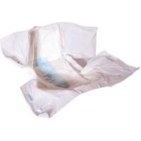 Forsite Slip AM-PM Max. Absorbency, Plastic Backed, ALL WHITE (PL771WHITE) €18.95