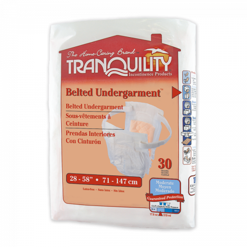 Tranquility Belted Undergarment, Cotton-Feel, 30 Pack (PL794-1) €19.95