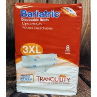 Tranquility Bariatric 3XL Disposable Briefs (2190) Cotton-Feel (PL790) €18.95