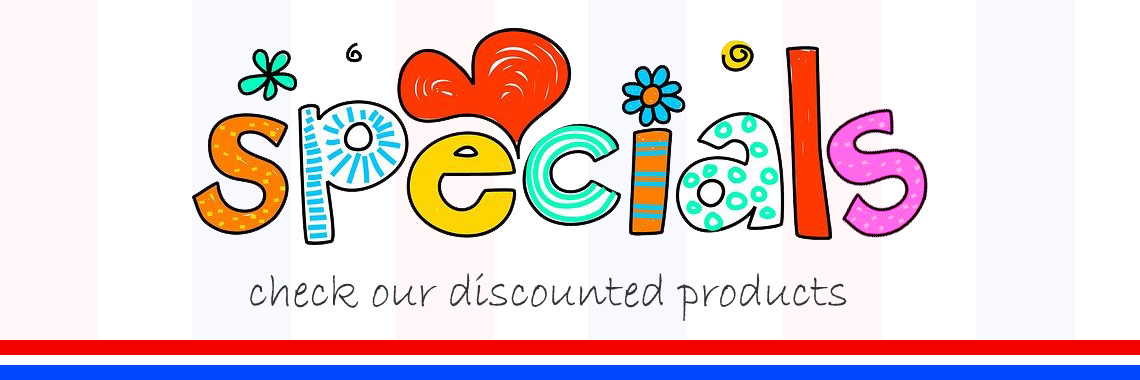 See all our discounted products on one page