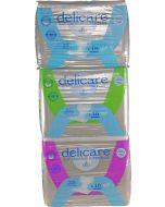 Delicare Slip Super Plus, Plastic Backed, Pack M