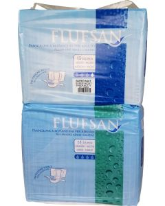 Flufsan Super Night, Plastic Backed